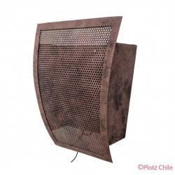 Aplique Metalico Etrusco Vela