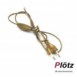 cable armado transparente sobremesa