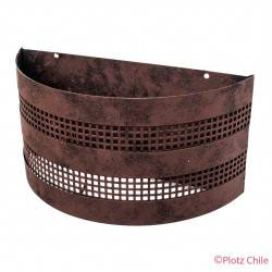 Aplique Metalico Etrusco 31cms de ancho