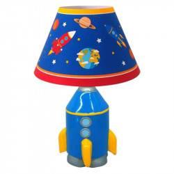 Lámpara Velador Cohete