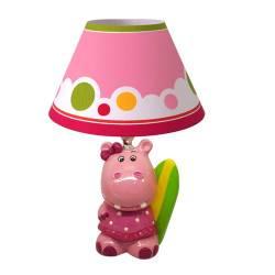 Lámpara Velador Hipopótama