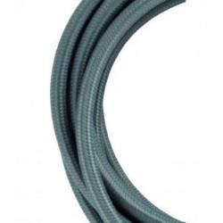 Cable textil forrado Gris Oscuro, Precio por metro