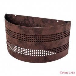 Aplique Metalico Etrusco 31cms de ancho
